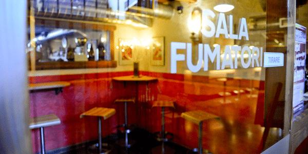 Sala fumatori ristorante pizzeria Sunrise Bormio